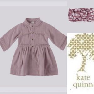 Kate Quinn dress and headband